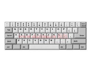 认识键盘和各指负责的区域-第1课